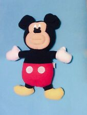 "DISNEY MICKEY MOUSE SING-A-MA-JIG 10"" PLUSH FISHER PRICE/ MATTEL SINGING DOLL"
