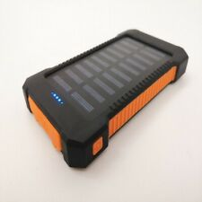 20000/50000mAh Portable Solar Power Bank 2USB LED Battery Charger for Cell Phone