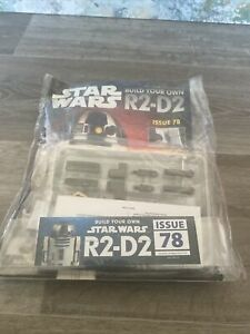DEAGOSTINI BUILD YOUR OWN STAR WARS R2-D2 ISSUE 78 NEW UNUSED SEALED