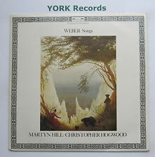 DSLO 523 - WEBER - Songs MARTYN HILL / CHRISTOPHER HOGWOOD - Ex Con LP Record