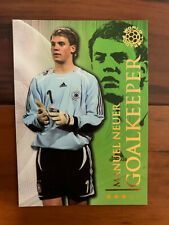 2009 Futera World Football Soccer - Germany MANUEL NEUER Rookie MINT