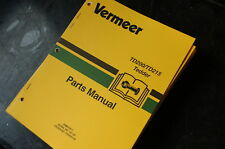 VERMEER TD200 TD215 ROTARY TEDDER Parts Manual book catalog list spare hay grass