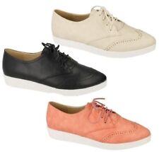 Chaussures plates et ballerines synthétiques Spot On pour femme