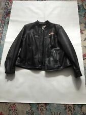 Women's Harley Davidson Black  leather jacket size-1W