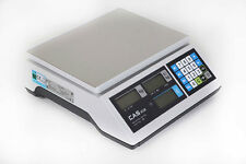 CAS ER - JUNIOR 15kg Retail Weighing Scale Flat Plate Shop Scales price inc vat