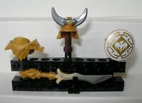 Lego Ninjago Drachen Rüstung Wu Drachenmeister 4 Elemente Drachenrüstung Ninja