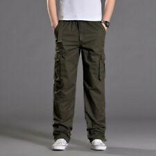 Men's Multi-pocket Trouser Cargo Outdoor Pants Leisure Loose Tooling Plus Size
