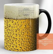 Beer design Magic color changing Coffee Mug Tea Cup Best gift HOME DECOR EDH