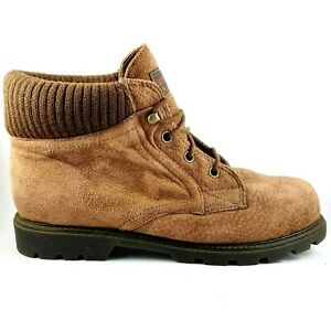 Bare Traps Lace up Brown Women's Ankle Boots shoes Size 8B, EUR 38, 24 cm