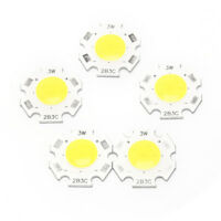 5pcs 3W COB LED Chips LED Strip Bar Light Bulb Lamp Flood Light DC9-10