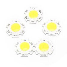 10v 3w light bulbs ebay 5pcs 3w cob led chips led strip bar light bulb lamp flood light dc9 10 aloadofball Choice Image