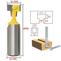 1/2'' Shank 1/2'' T-Slot Cutter Router Bit For Woodworking Milling Tool