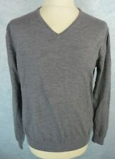 GUESS Pull Homme Taille XXL - Gris - Col V
