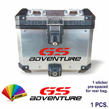 Adesivo BMW GS Adventure bauletto valigie alluminio borse R1200GS bags stickers