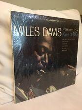 MILES DAVIS KIND OF BLUE LP 1961 PRESS STEREO 6-EYE LABEL IN SHRINK BEAUTIFUL!