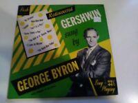 "George Byron Dick Hyman Rediscovered Gershwin VG+ Original 10"" DESTO Record Jazz"
