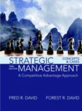 *PDF* Strategic Management : A Competitive Advantage Approach, Concepts and Case