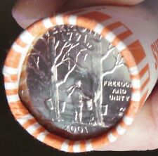 State Quarter Vermont 2001-P new bank roll cond.I ship to USA ONLY.FREE SHIP