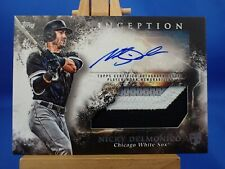 Topps Inception 2018 Autograph Auto Patch RC Rookie Nicky Delmonico /299