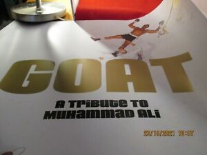 2001 Muhammad Ali Jeff Koons GOAT Greatest of All Time Sample Copy Buch