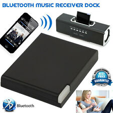 30 Pin Bluetooth Dock Adapter Wireless Music Audio Receiver iPad iPhone iPod UK