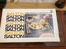 Salton Hotray Model H-922 Food Warmer Buffet Hot Plate Nib