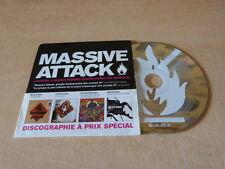 Massive Attack – Massive Attack DISCOGRAPHIE - RARE FRENCH ONLY PROMO CD !!!!!