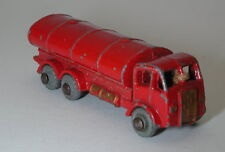 Matchbox Lesney Toys-Esso ERF Petrol Tanker #11 Grey Wheels NM oc16678