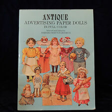 Antique Advertising Paper Dolls in Full Color - 1981 Barbara Jendrick