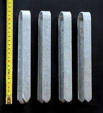 4 Stück Bodenanker verzinkt M Erdanker für Rosenbogen 22 cm Heringe Erdspieß