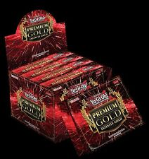 2016 YUGIOH Cards Premium Gold Series Infinite Gold Booster BOX 5ct SEALED!