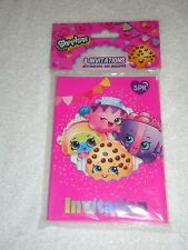 New Shopkins Birthday Party Invitations 8 invitations with envelopes