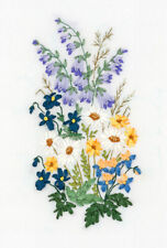 Panna Silk Ribbon Embroidery Kit - C-1457 Garden Lyricism