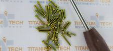 Safety Locking Screws 35mm Self Tapping Titanium Screws 150 Pcs
