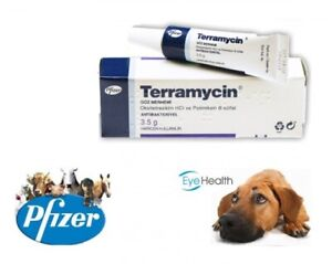 Ophthalmic Eye Ointment for Dogs Cats and other Animals 1/8 oz