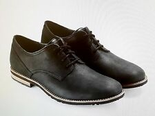 NEW 9(M) RockPort V81312 Ledge Hill Too Plain Toe Bluchers - BLACK -783