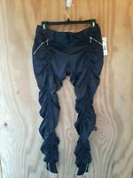 NWT Sharagano Shaine Women's Jogger Pants Black Color Made in France.Size M