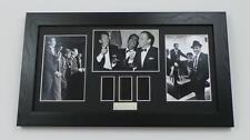 THE RAT PACK Film Cells Framed DEAN MARTIN FRANK SINATRA MOVIE MEMORABILIA GIFTS