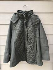 NEW Marc New York Olive Green Hooded Coat Jacket - Size XXL