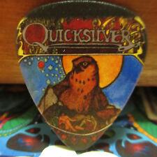 Quicksilver Messenger Service Collectors Guitar Pick; 'Fire Brothers' Qms Bird