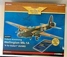 """Archivo de aviación Corgi 1/72 Wellington Mk.1A """"R para Robert"""" (N2980) AA34810"""