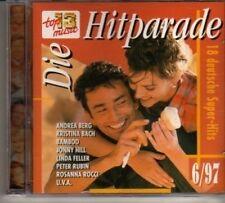 (DG585) Die Hitparade 6/97, 19 tracks various artists - 1997 CD