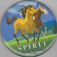 "VINTAGE 3"" PINBACK #28-004 - MOVIE - SPIRIT"