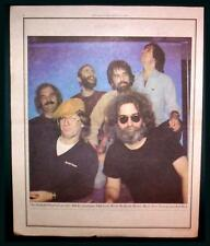 1980 GRATEFUL DEAD BAND COLOR POSTER AD