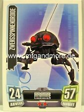 Force Attax Serie 2 Zwergspinnendroide #092
