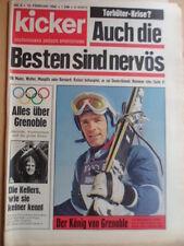 KICKER 8 - 19.2. 1968 Jean-Claude Killy Olympia Grenoble Valencia-Bayern 1:1