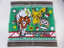 BRAND NEW!! KAWAII Pokemon POCKET MONSTERS SUN&MOON Mini Towel Type A