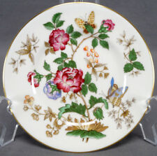 Set of 8 Wedgwood Charnwood WD 3984 Floral Butterfly & Gold Bread Plates