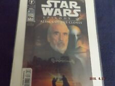 Christopher Lee Star Wars Comic & 3 Bookmarks (Star Wars & Lord Of The Rings)