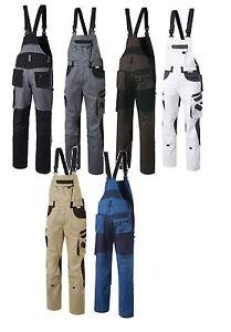 Pionier Tools Herren Latzhose Arbeithose Berufshose Handwerkerlatzhose Workwear